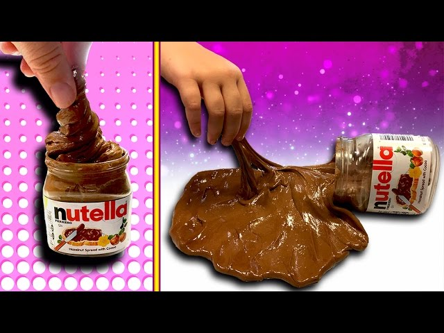how to make nutella slime diy slime recipe you can eat no glue