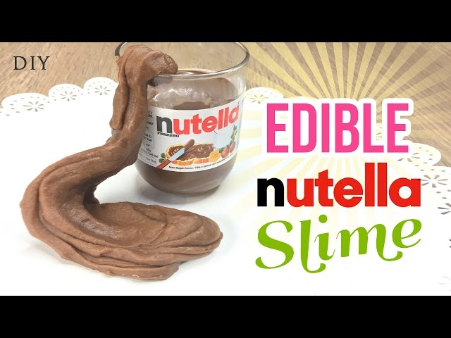 Make edible nutella slime delicious easy diy slimeplaydough make edible nutella slime delicious easy diy slimeplaydough recipe with just 3 ingredients ccuart Images