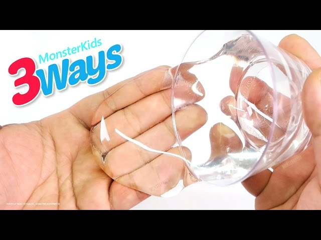 Best slime recipes page 12 of 34 diy 3 ways to make clear slime how to make clear slime liquid glass putty ccuart Images