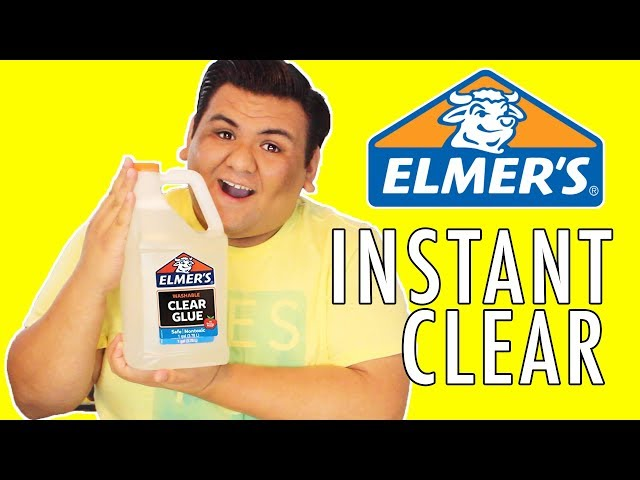 Instant clear slime with new elmers clear glue gallon ccuart Gallery