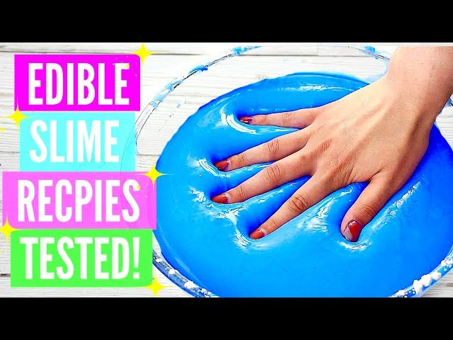 Testing popular edible slime recipes how to make edible slime diy testing popular edible slime recipes how to make edible slime diy please read the description ccuart Images