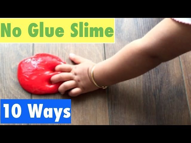How to make slime without glue or borax my favourite top 10 no how to make slime without glue or borax my favourite top 10 no glue slime recipes ccuart Gallery